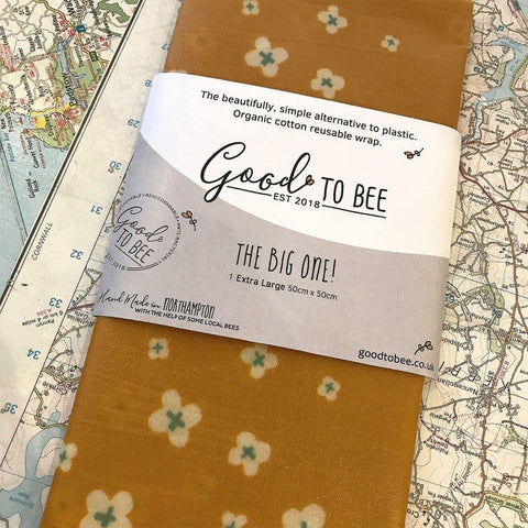 Organic Beeswax Reusable Food Wrap Big One - insideout-home