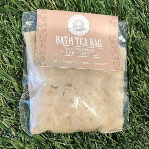 Bath Tea Bag Sandlewood & Earl Grey Tea - insideout-home