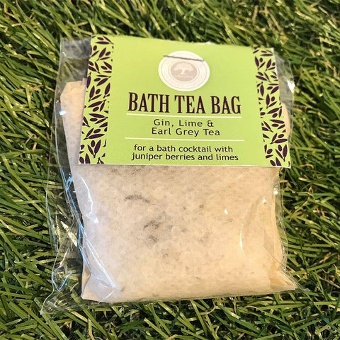 Bath Tea Bag Gin, Lime & Earl Grey Tea - insideout-home