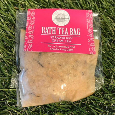 Bath Tea Bag Strawberry Cream Tea - insideout-home
