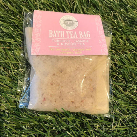Bath Tea Bag Tuberose, Jasmine & Rosehip