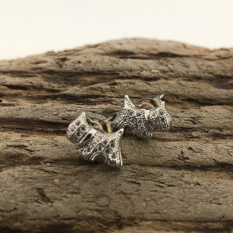 Silver Scotty Dog Earrings - insideout-home