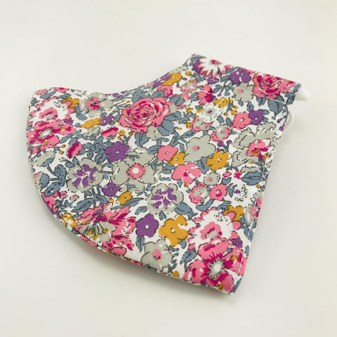 Face Mask Floral Meadow Pink - insideout-home