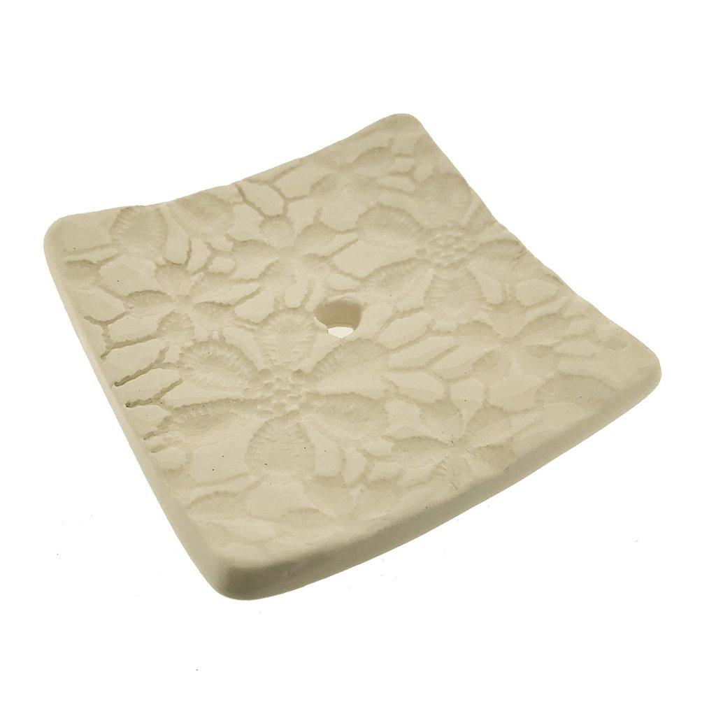Square Soap Dish - Daisy by  Insideout