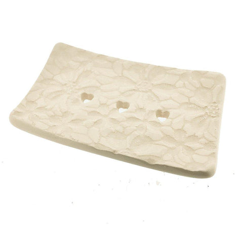Rectangular Soap Dish - Daisy - insideout-home