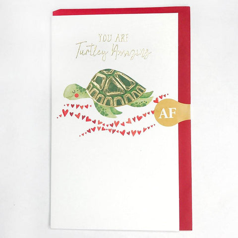 You Are Turtley Amazing Card - insideout-home