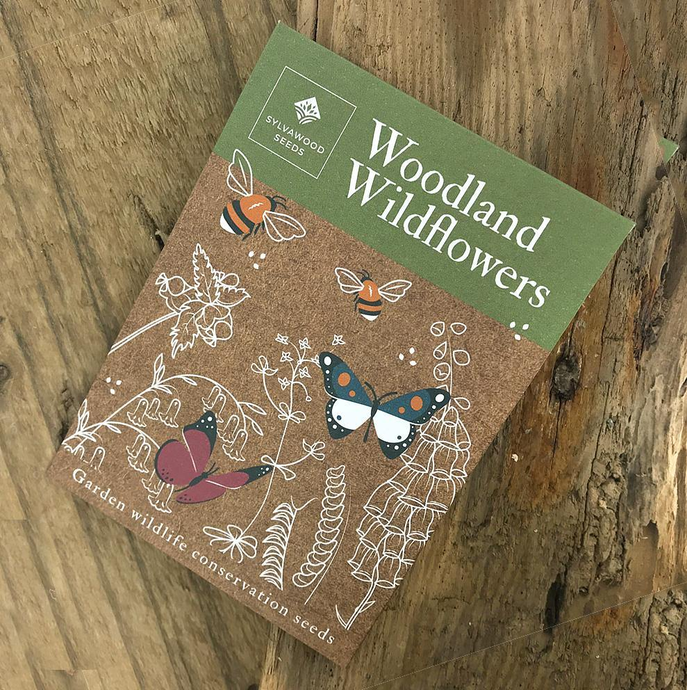 Woodland Wildflowers Wildlife & Conservation Seeds by  Insideout