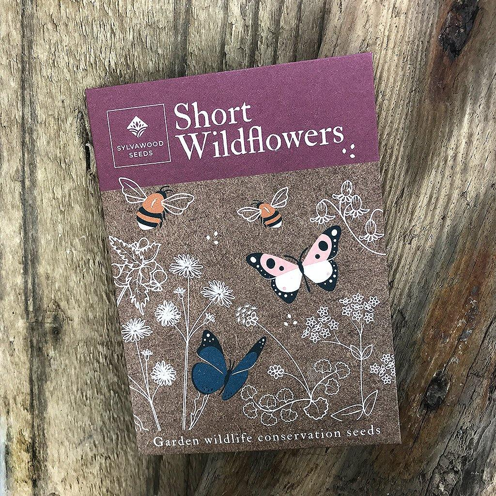 Short Wildflowers Wildlife & Conservation Seeds, Plants by Insideout