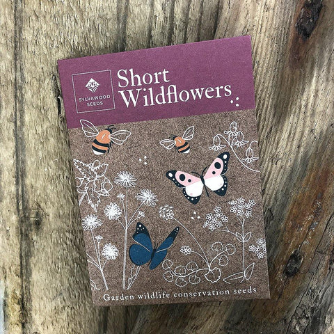 Short Wildflowers Wildlife & Conservation Seeds - Insideout