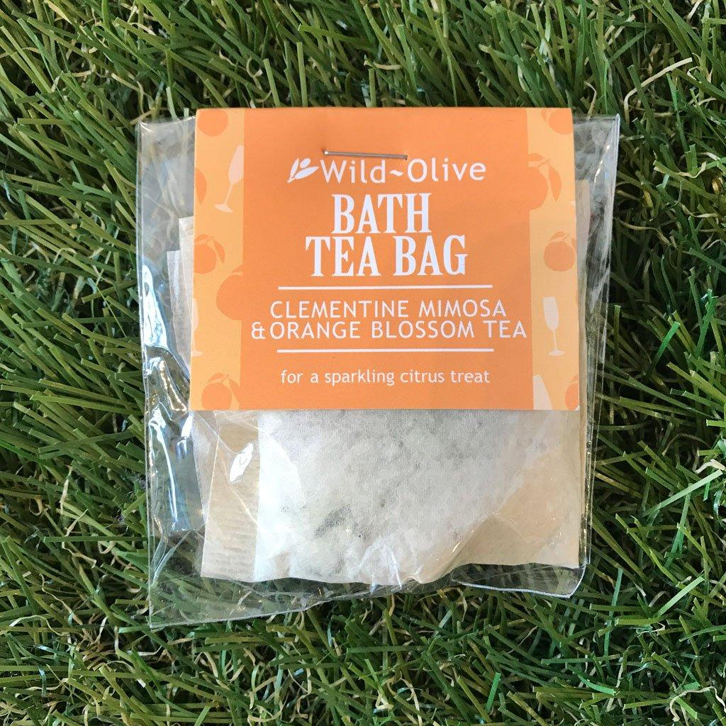 Bath Tea Bag Clementine, Mimosa & Orange Blossom, Beverages by Insideout