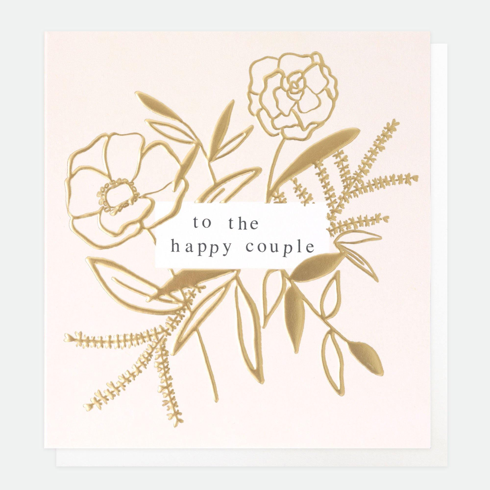 To The Happy Couple Card, Greeting & Note Cards by Insideout