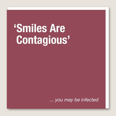 IT63 Smiles Are Contagious Card - insideout-home