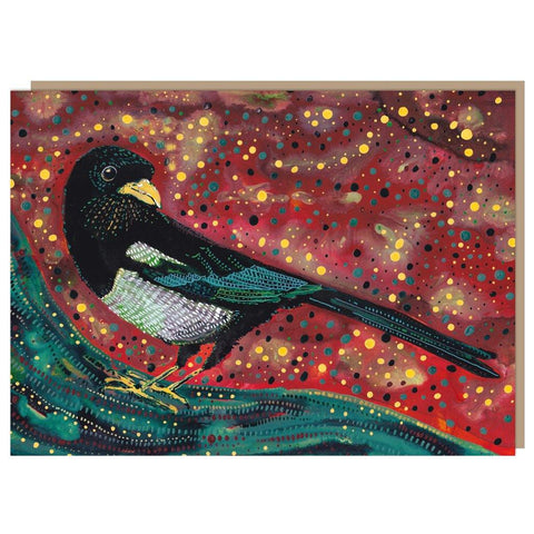 Magpie In The Calm Card - insideout-home