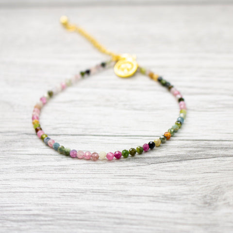 Natural Stone Bracelet - Pink - insideout-home