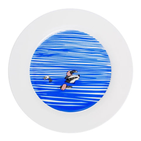 Badger Swims Dinner Plate - insideout-home