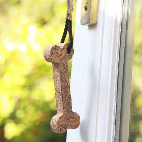 Cork Bone Keyring - insideout-home