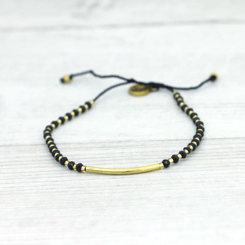 Lyla Bar Bracelet Black - insideout-home