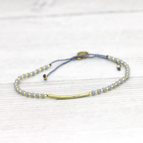 Lyla Bar Bracelet Grey - insideout-home