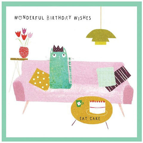 Wonderful Birthday Wishes Card - insideout-home