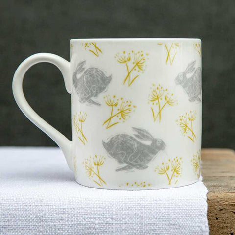 Headlong Hare Large Pattern Mug - insideout-home