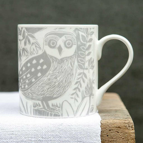 Owl and Fox Hedgerow Mug - insideout-home