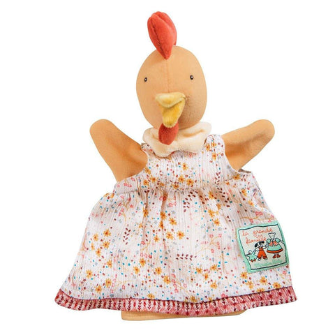 Felicie The Chicken Hand Puppet - insideout-home