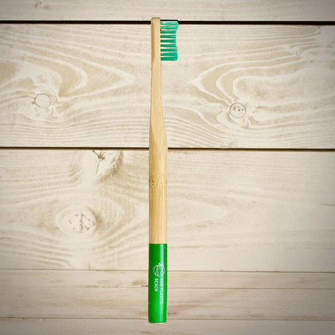 Grenada Green Biodegradable Bamboo Toothbrush Adult - insideout-home