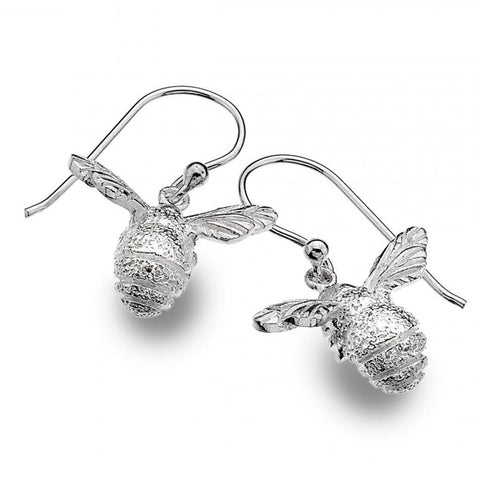 Sterling Silver Bee Hook Earrings - insideout-home