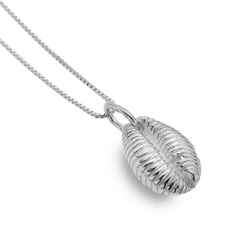 Sterling Silver Conch Shell Necklace P3443 - insideout-home