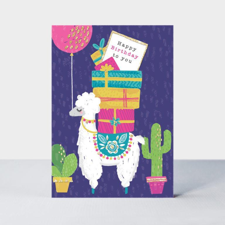 Happy Birthday To You Card, Gift Giving by Insideout