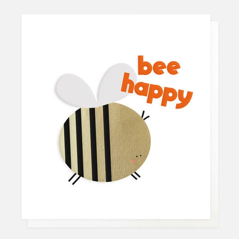 Bee Happy Card - insideout-home