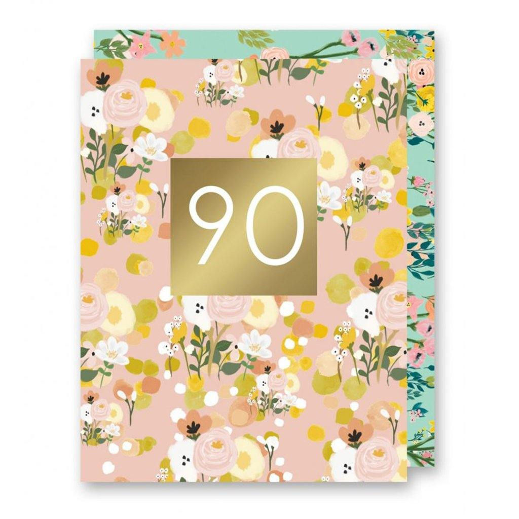 90 Card by  Insideout