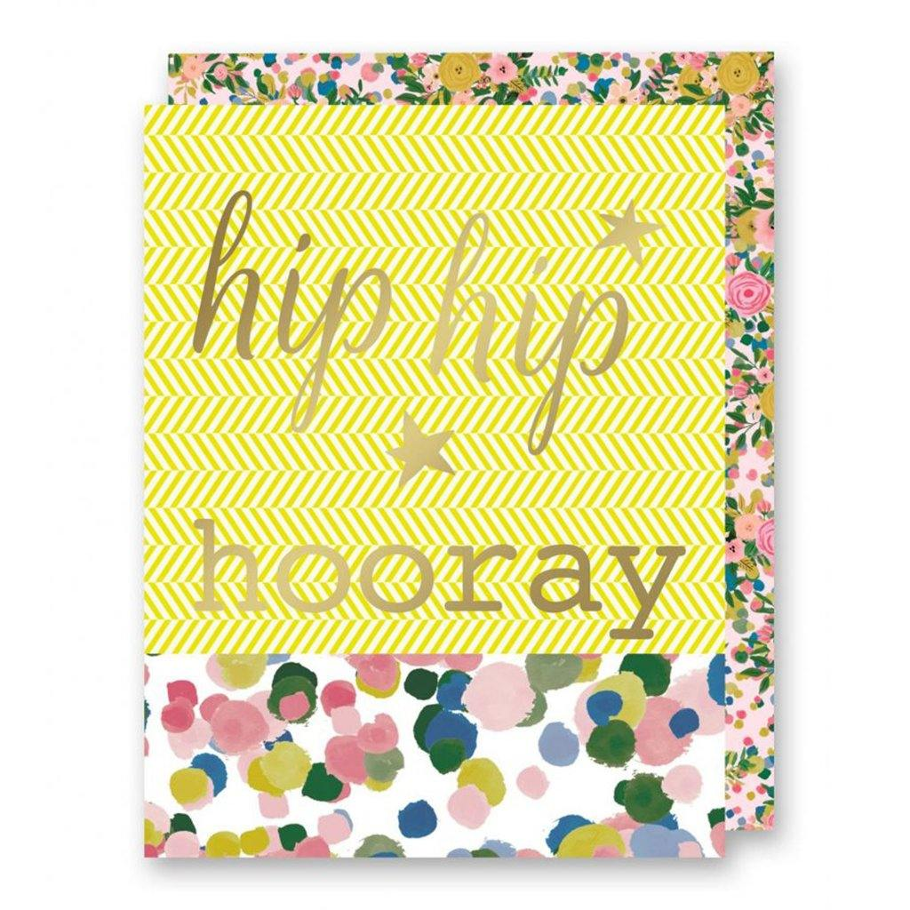 Hip Hip Hooray Card by  Insideout
