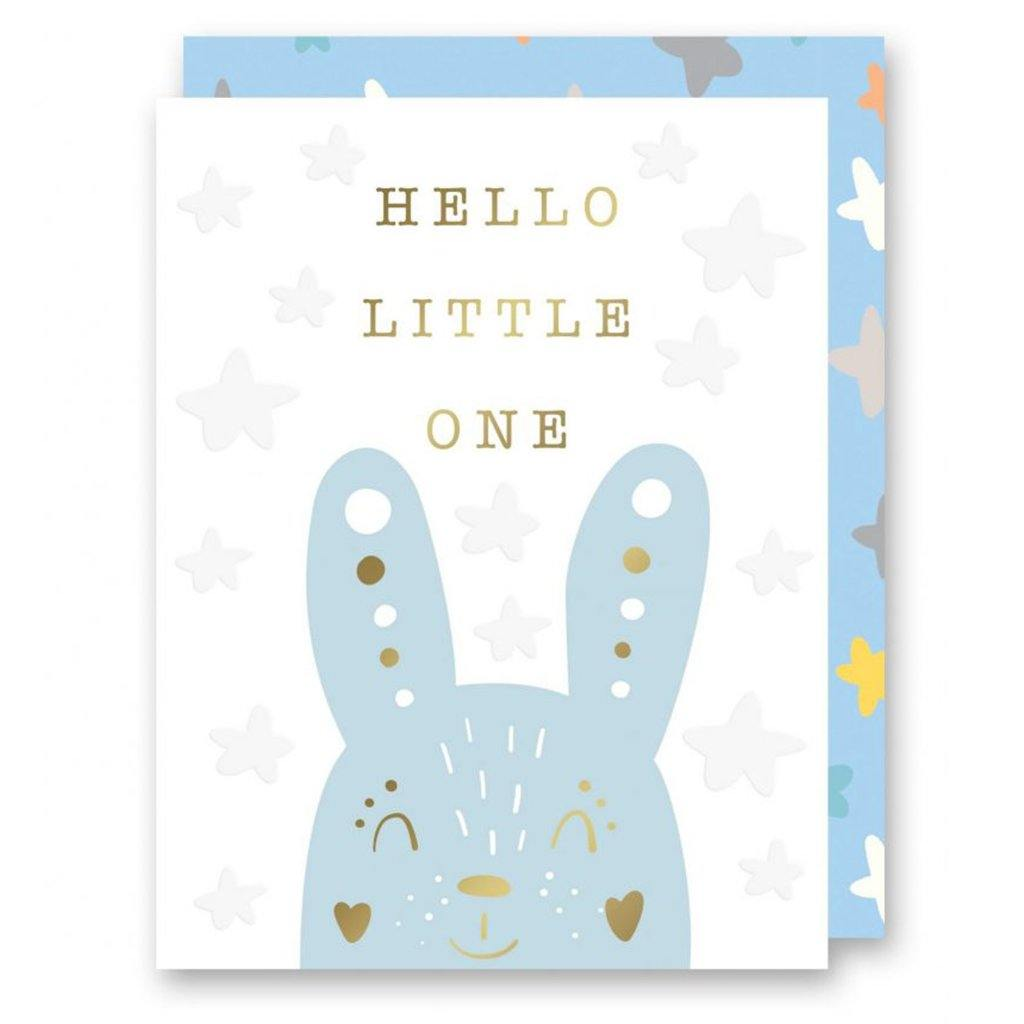 Blue Bunny Card by  Insideout