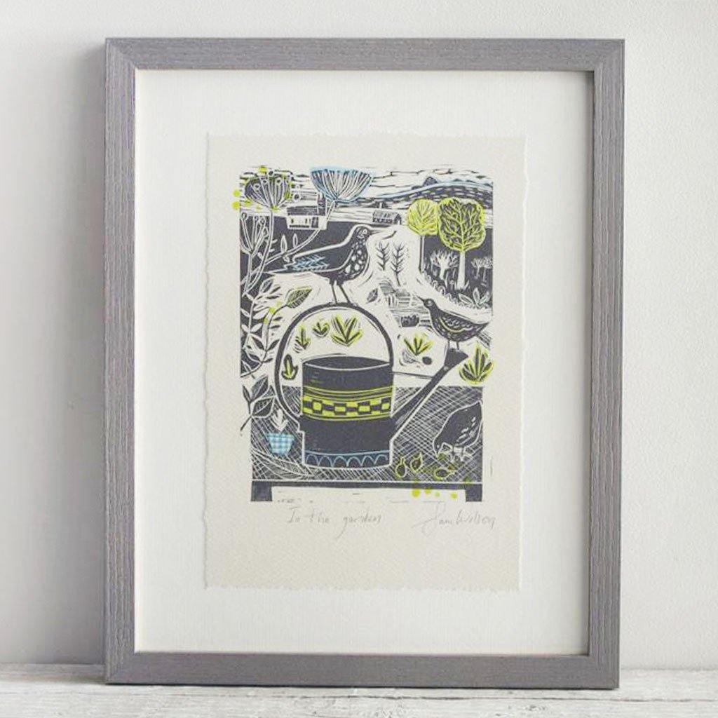 In The Garden Print by  Insideout
