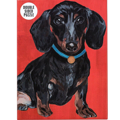 Double Sided Dachshund 100 Piece Jigsaw Puzzle - insideout-home