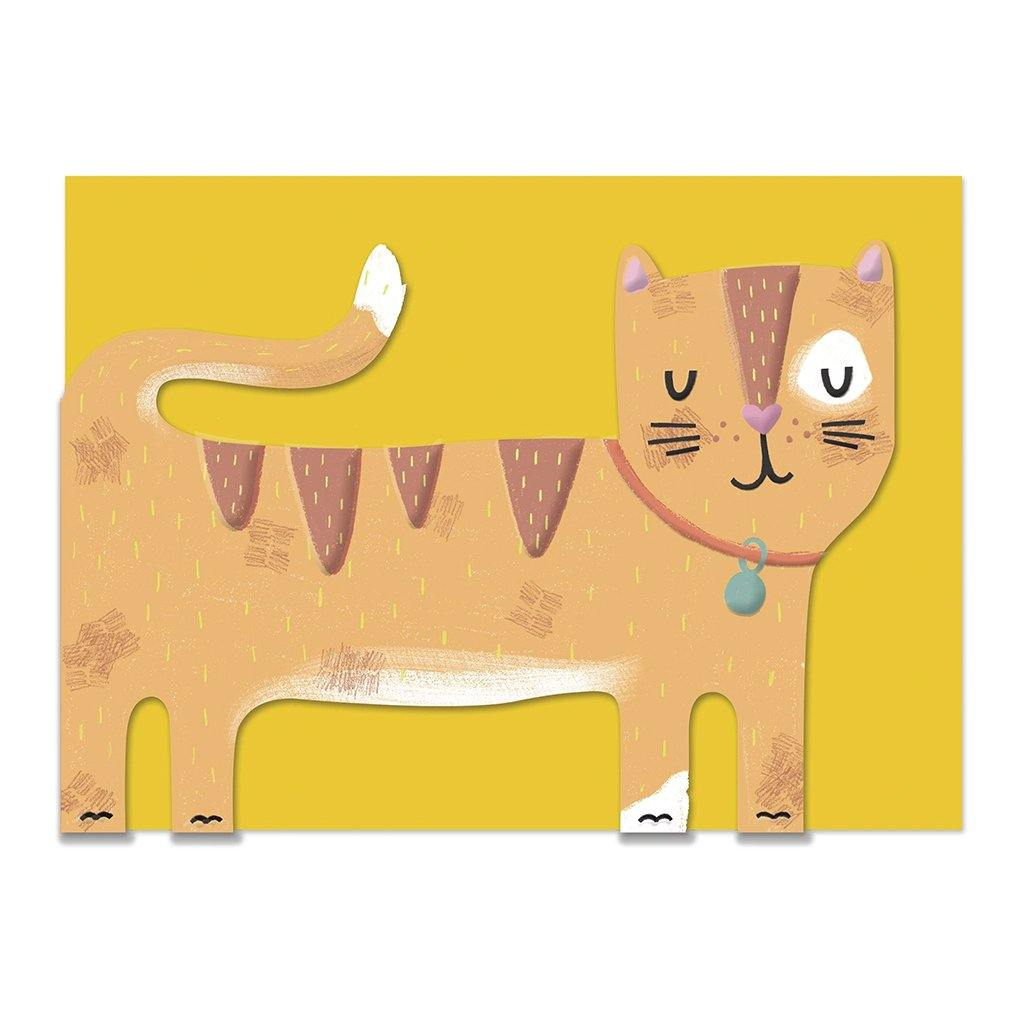 Ginger Cat Card, Party & Celebration by Insideout
