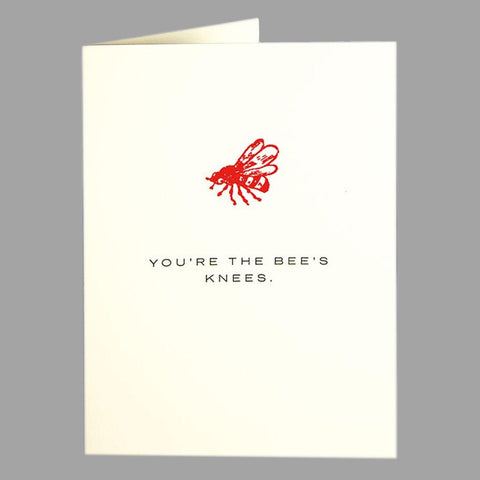 Bees Knees Card - insideout-home