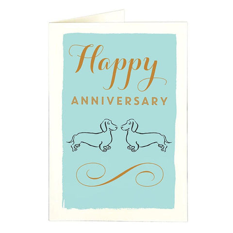 Doxie Anniversary Card - insideout-home