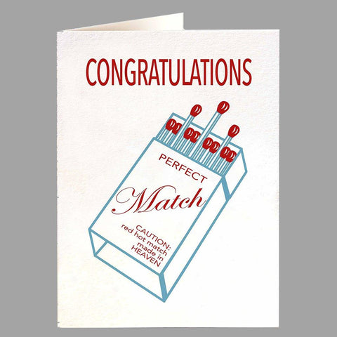Perfect Match Congratulations Card - insideout-home