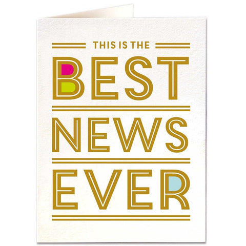 Best News Ever Card - insideout-home