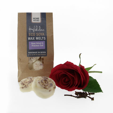 Rose Velvet & Precious Oud Eco Soya Wax Melts insideout-home.myshopify.com