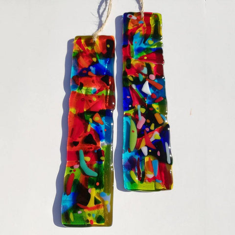 Pic n Mix Fused Glass Suncatcher