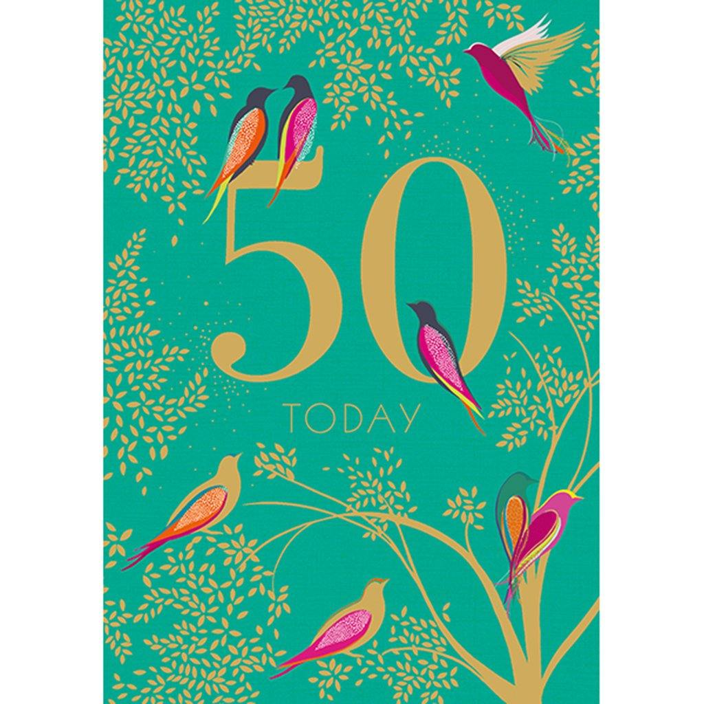 50th Birthday Card by  Insideout