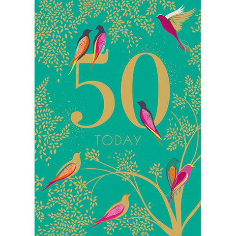 50th Birthday Card - insideout-home