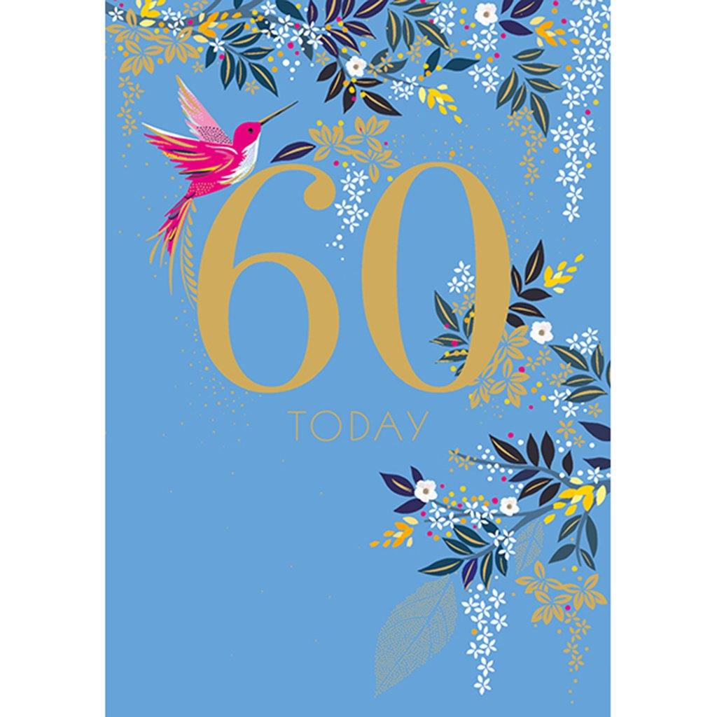 60th Birthday Card, Party & Celebration by Insideout