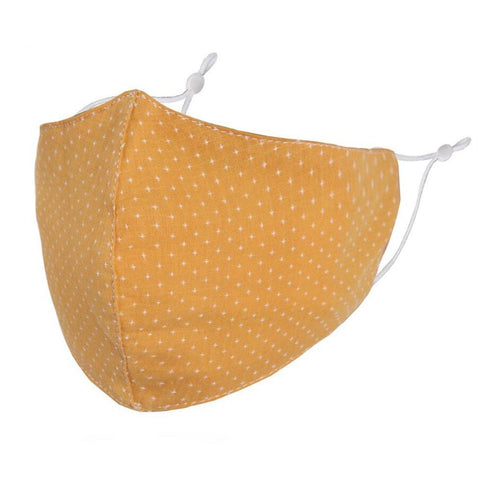 Face Mask Yellow Stars - insideout-home