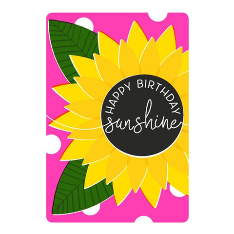 Sunshine Flower Card - insideout-home