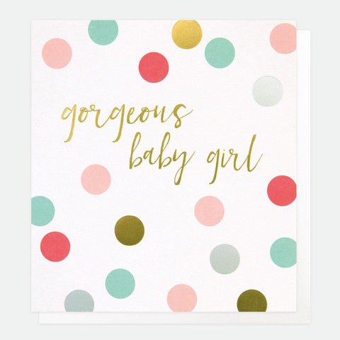 Gorgeous Baby Girl Card - insideout-home