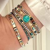 America Bracelet Teal - insideout-home